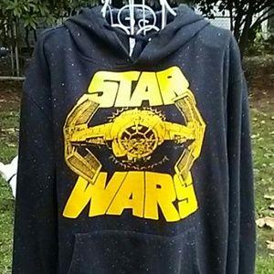 STAR WARS Hoodie Size Large